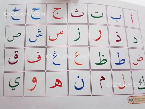 jual poster hijaiyah