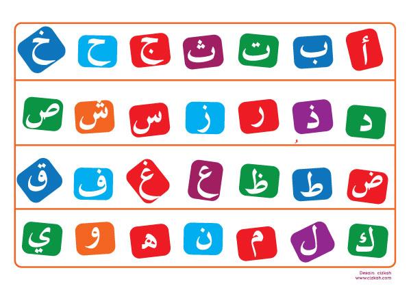 Naluri Kehidupanku: Homeschool : Hijaiyah & Doa