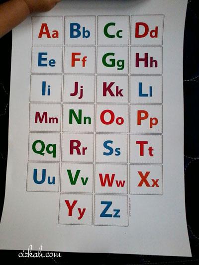 poster alfabet