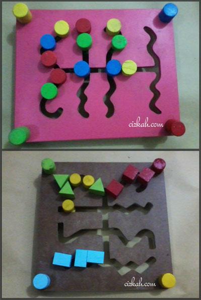maze dasar dan geometris