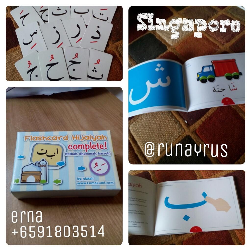 agen flashcard hijaiyah singapore