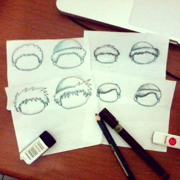 sketch karakter wudhu