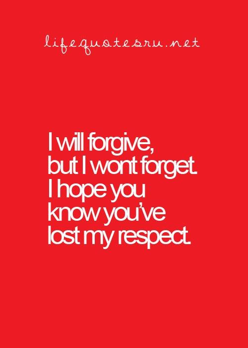 lostrespect