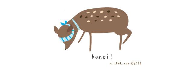 kancil-cizkah